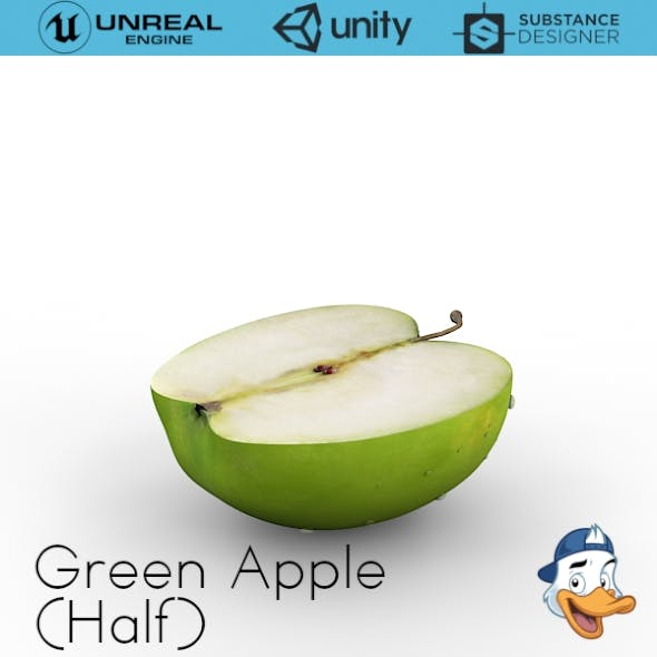 Green Apple (Half)