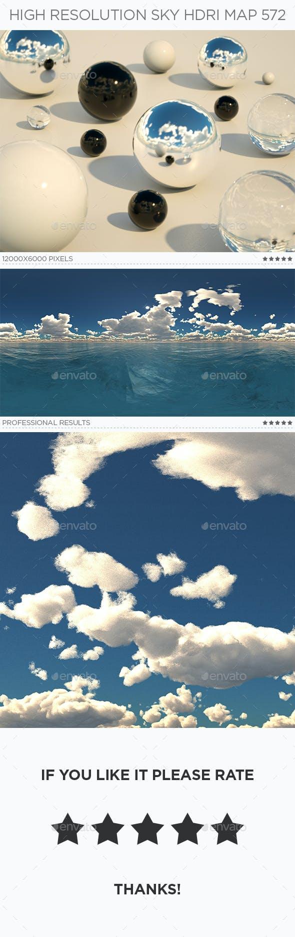 High Resolution Sky HDRi Map 572 - 3DOcean Item for Sale