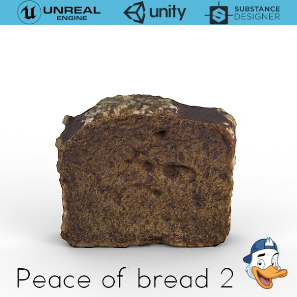 Piece of bread 2