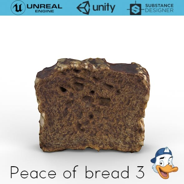 Piece of bread 3