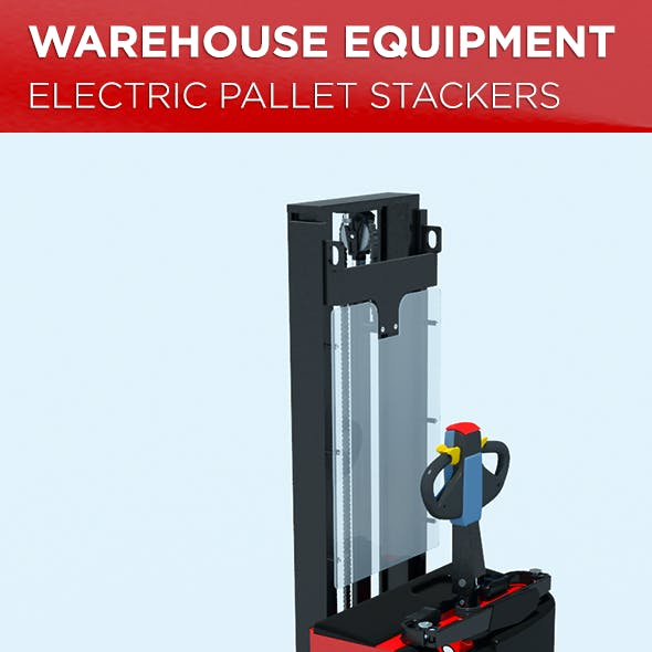 Warehouse Equipment: Electric Pallet Stackers