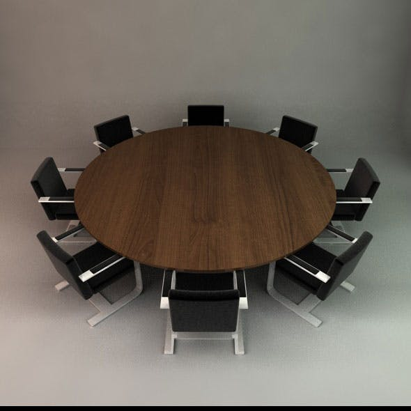 Office Conference Table and Chairs