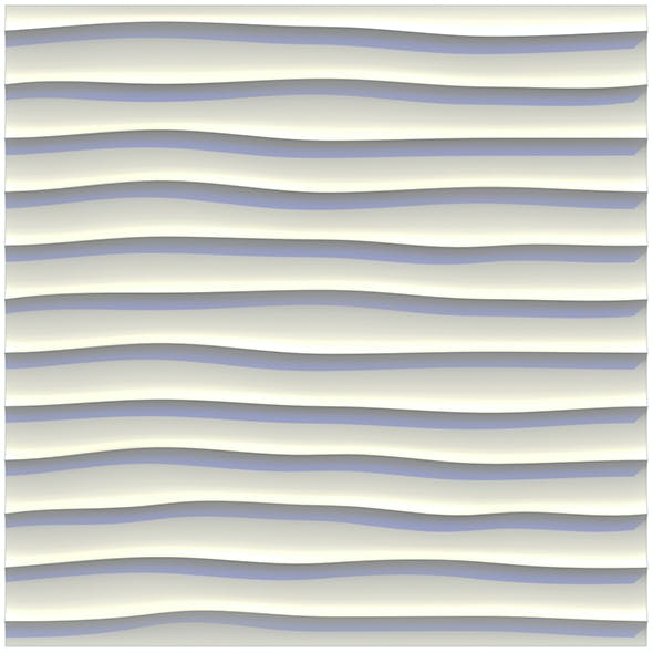 sandy ripples (waves) wall panel