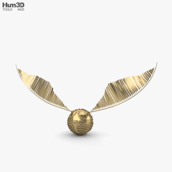 Golden Snitch - 3DOcean Item for Sale