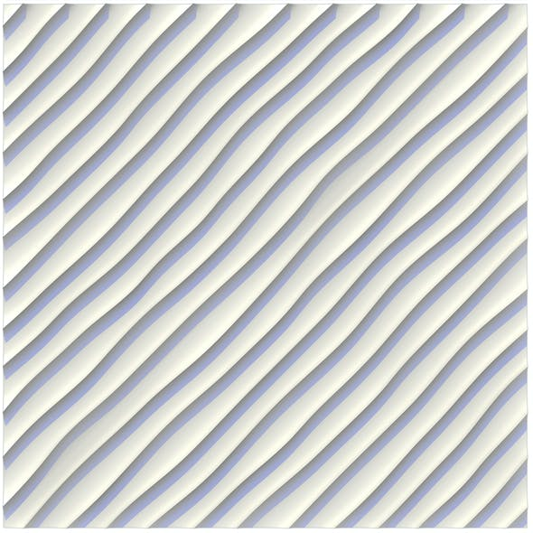 wall panel sandy ripples (waves) diagonal