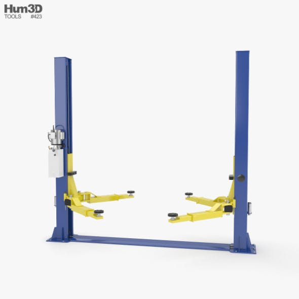 Car Lift - 3DOcean Item for Sale
