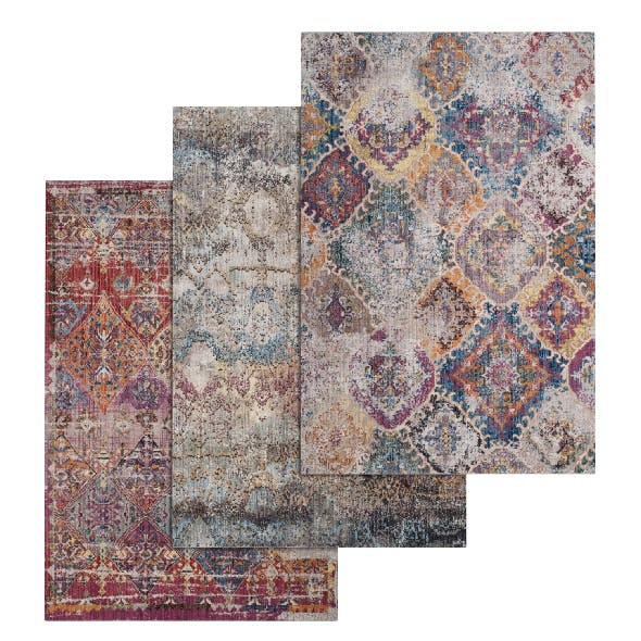 Rug Set 77 - 3DOcean Item for Sale