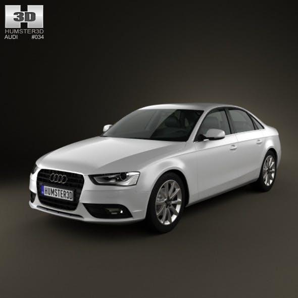 Audi A4 Sedan 2013 - 3DOcean Item for Sale