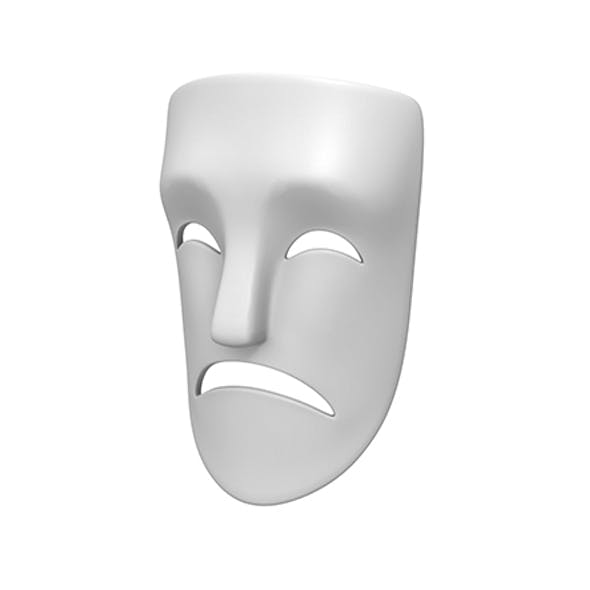 Theater Sad Mask