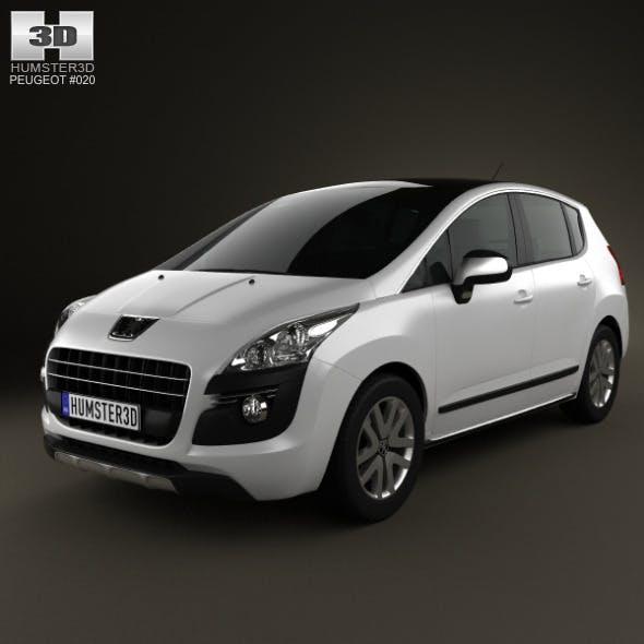 Peugeot 3008 Hybrid 2012 - 3DOcean Item for Sale