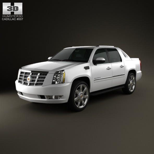 Cadillac Escalade EXT 2011 - 3DOcean Item for Sale