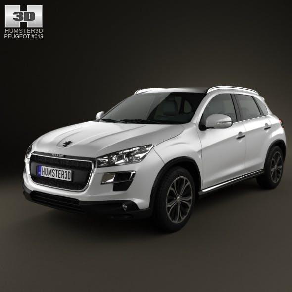 Peugeot 4008 2012 - 3DOcean Item for Sale