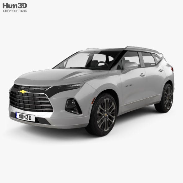 Chevrolet Blazer Premier 2019 - 3DOcean Item for Sale