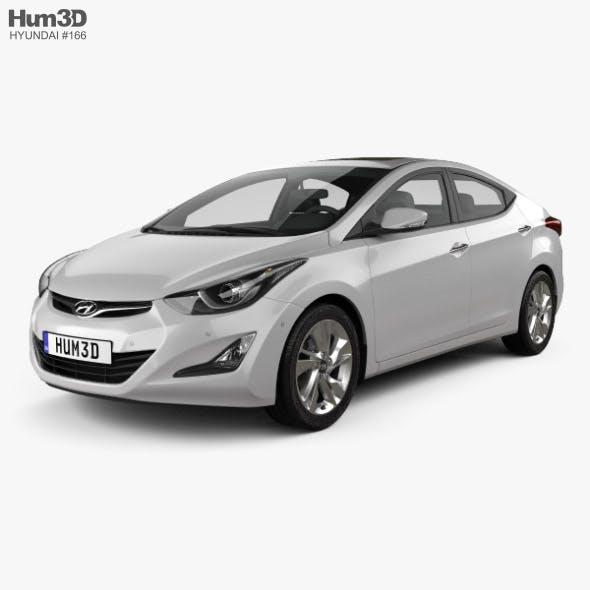 Hyundai Avante sedan 2014