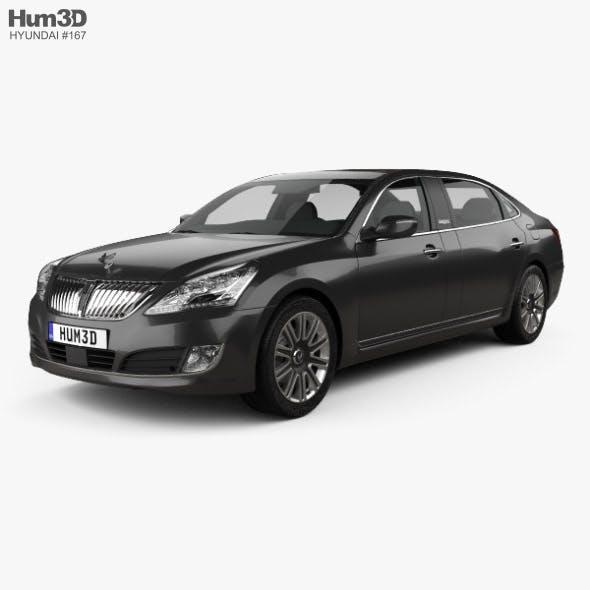 Hyundai Equus limousine 2014 - 3DOcean Item for Sale