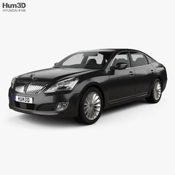 Hyundai Equus sedan 2014 - 3DOcean Item for Sale