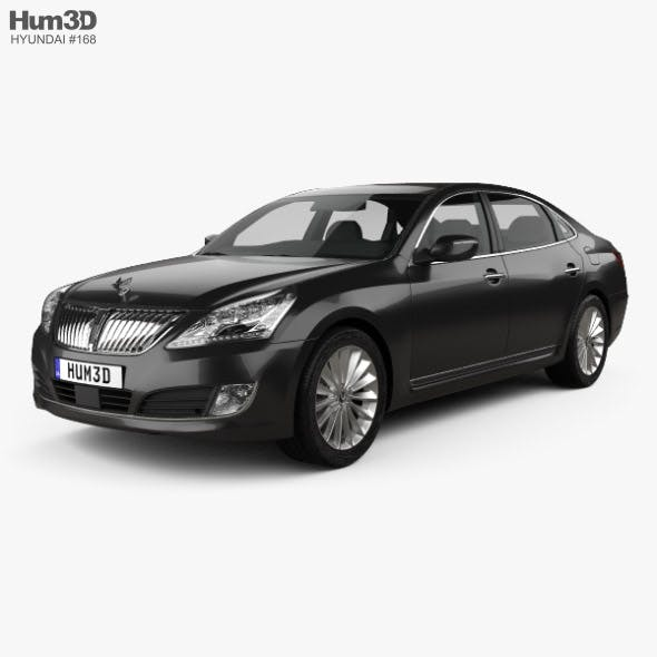 Hyundai Equus sedan 2014