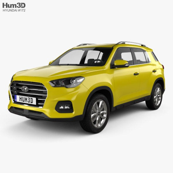 Hyundai ix35 CN-spec 2018 - 3DOcean Item for Sale