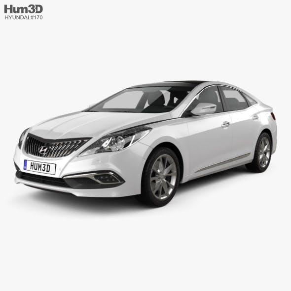 Hyundai Grandeur 2014 - 3DOcean Item for Sale
