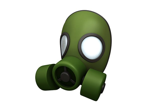 Gas Mask - 3DOcean Item for Sale
