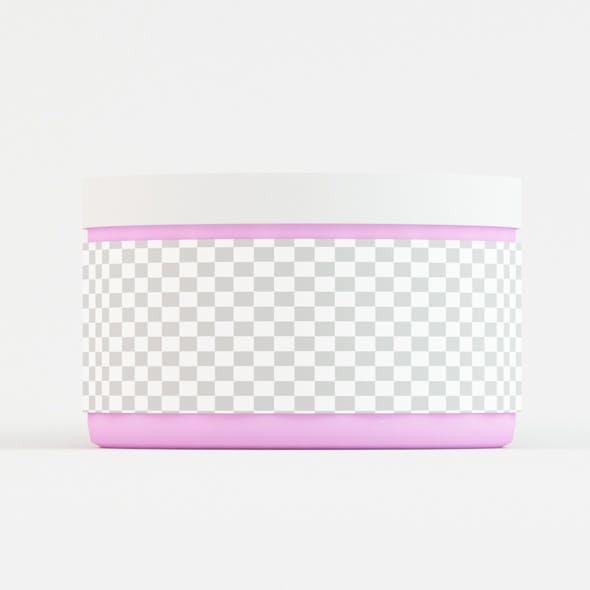 Cosmetics Jar
