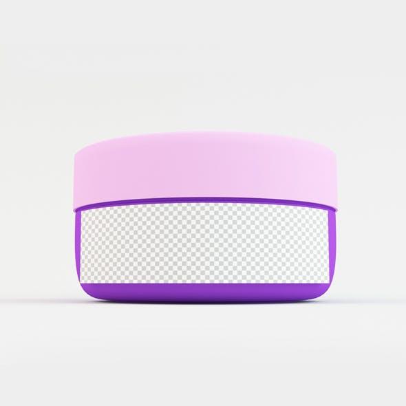 Cosmetics Container Jar