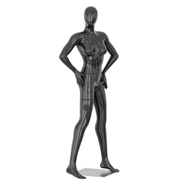 Faceless woman mannequin 37 - 3DOcean Item for Sale