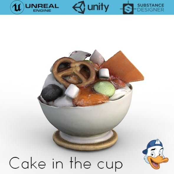Cake in the cup