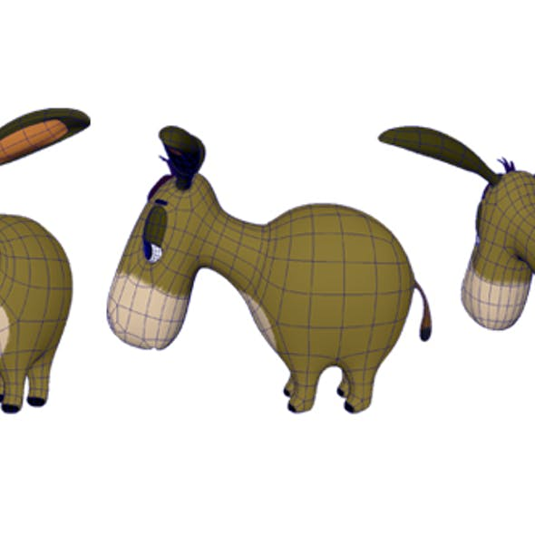 Donkey Model From  Winnie the Pooh