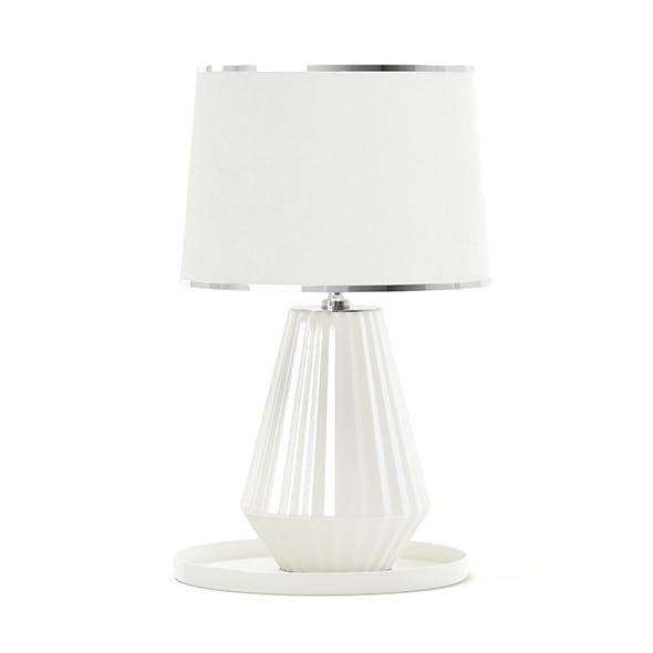 Beige Table Lamp 3D Model - 3DOcean Item for Sale