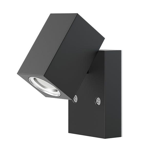 Black Wall Halogen 3D Model - 3DOcean Item for Sale