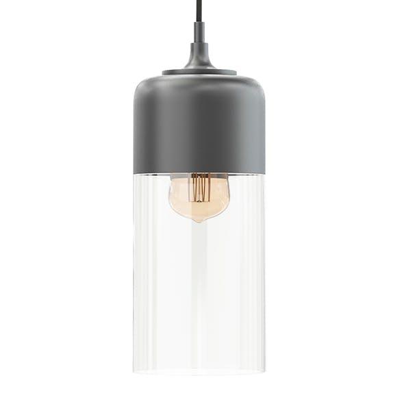 Black Hanging Lamp 3D Model