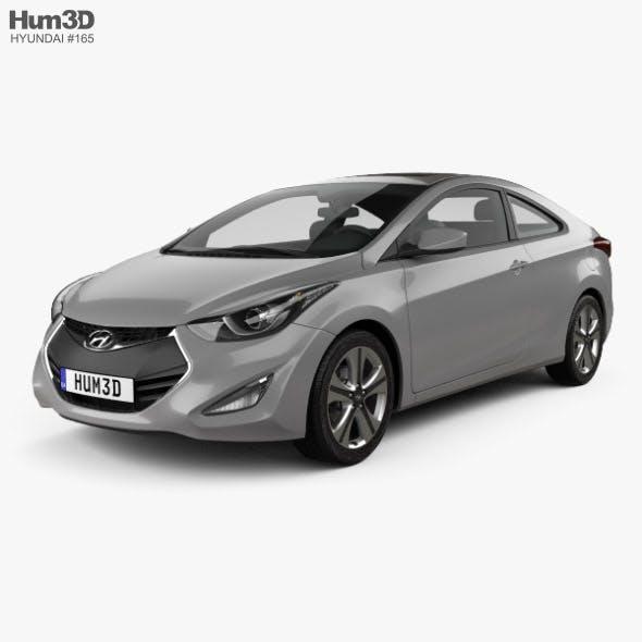Hyundai Avante coupe 2014