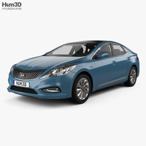 Hyundai Grandeur hybrid 2014 - 3DOcean Item for Sale