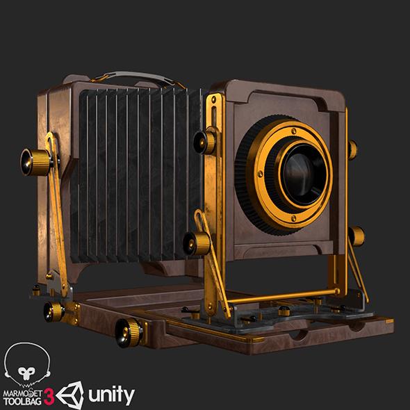 Old Antique Camera PBR
