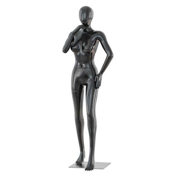 Faceless woman mannequin 38 - 3DOcean Item for Sale