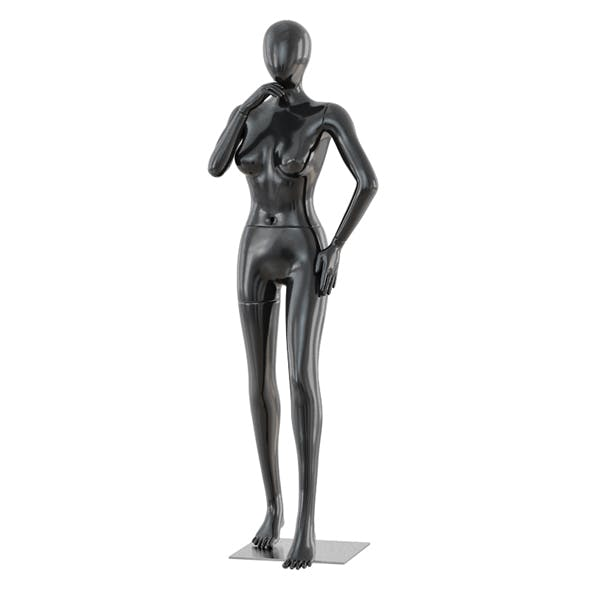 Faceless woman mannequin 38
