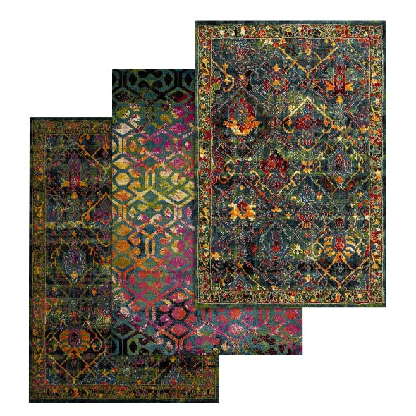 Rug Set 80 - 3DOcean Item for Sale