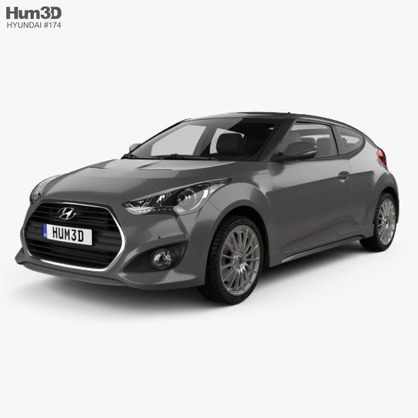 Hyundai Veloster Turbo 2014 - 3DOcean Item for Sale