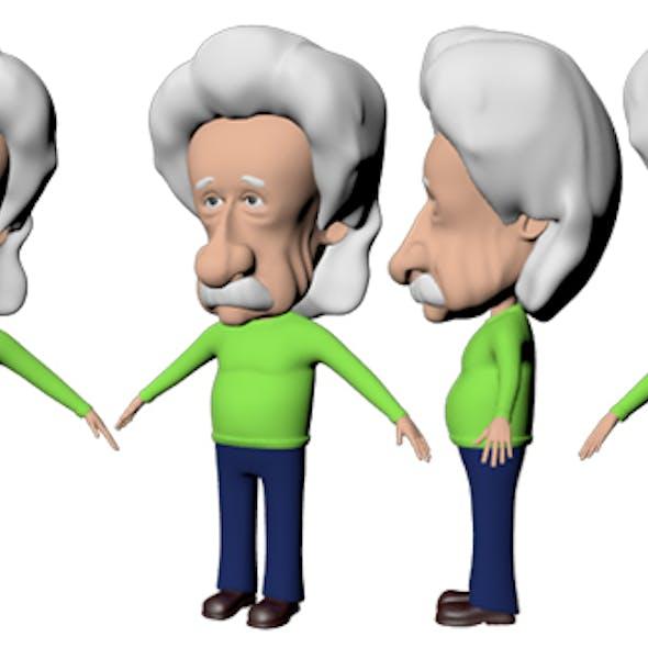 Albert Einstein Cartoon Caricature