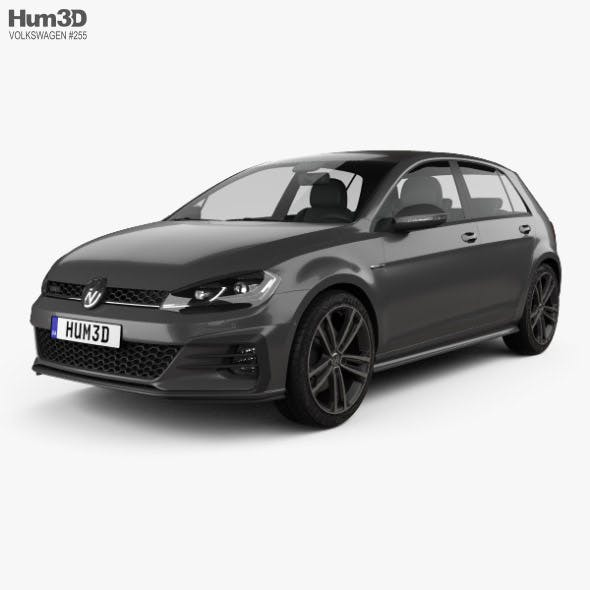 Volkswagen Golf GTD 5-door 2017