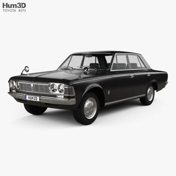 Toyota Crown 1967 - 3DOcean Item for Sale