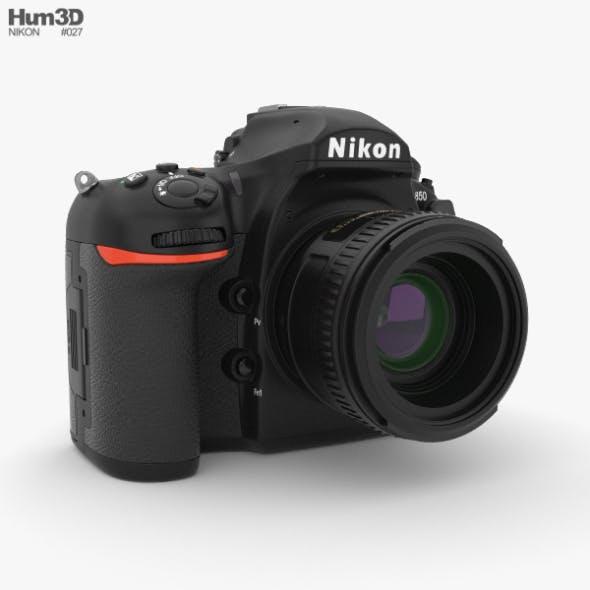 Nikon D850 - 3DOcean Item for Sale