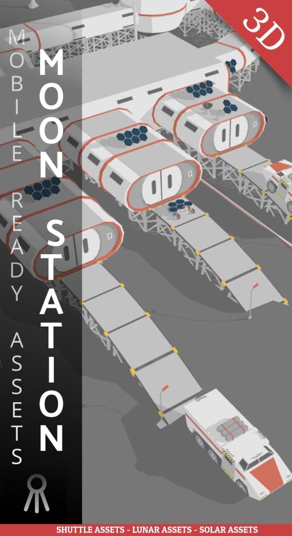 Moon Station - 3DOcean Item for Sale