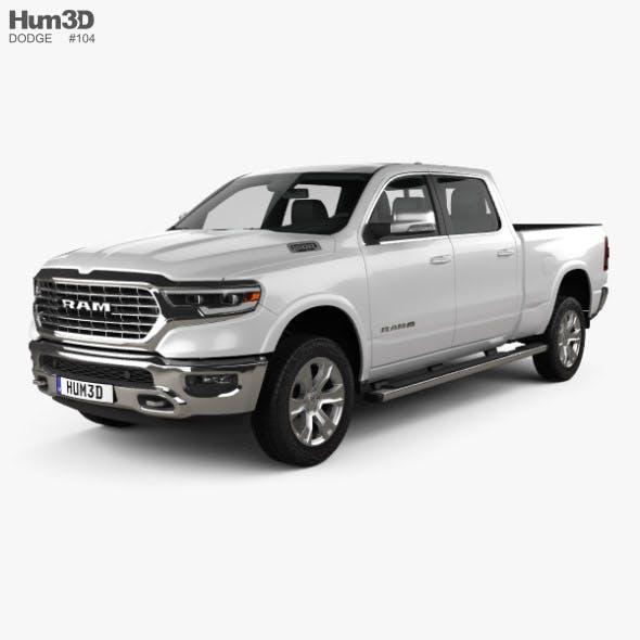 Dodge Ram 1500 Crew Cab Laramie Longhorn 6-foot 4-inch Box 2019