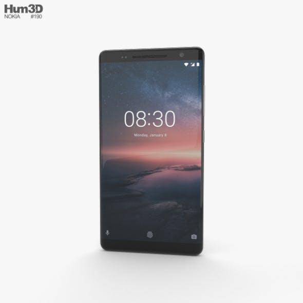 Nokia 8 Sirocco Black - 3DOcean Item for Sale