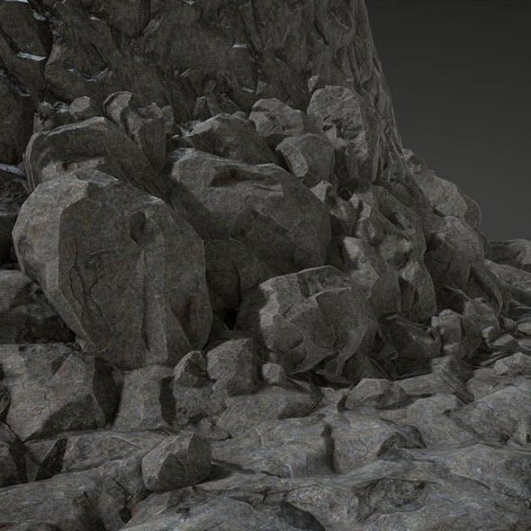 Stone Set - 3DOcean Item for Sale