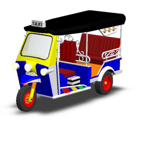 Tuk Tuk 3 Wheel Bangkok - 3DOcean Item for Sale