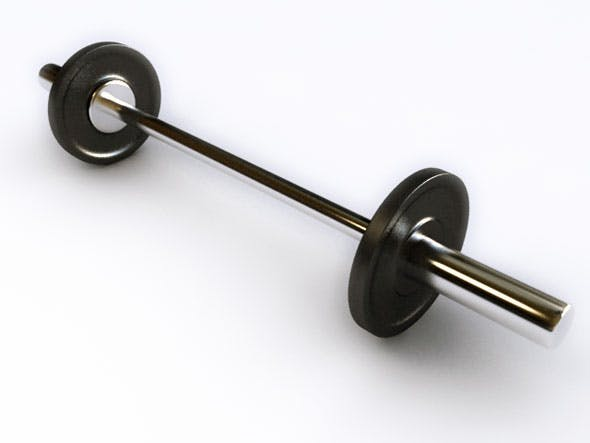 Barbell / GYM / 3Ds Max - 3DOcean Item for Sale