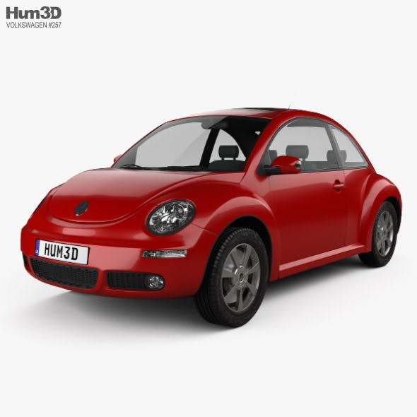 Volkswagen Beetle coupe 2005 - 3DOcean Item for Sale